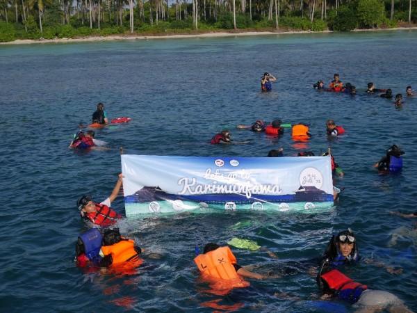 Wisata Bahari di Pulau Karimunjawa