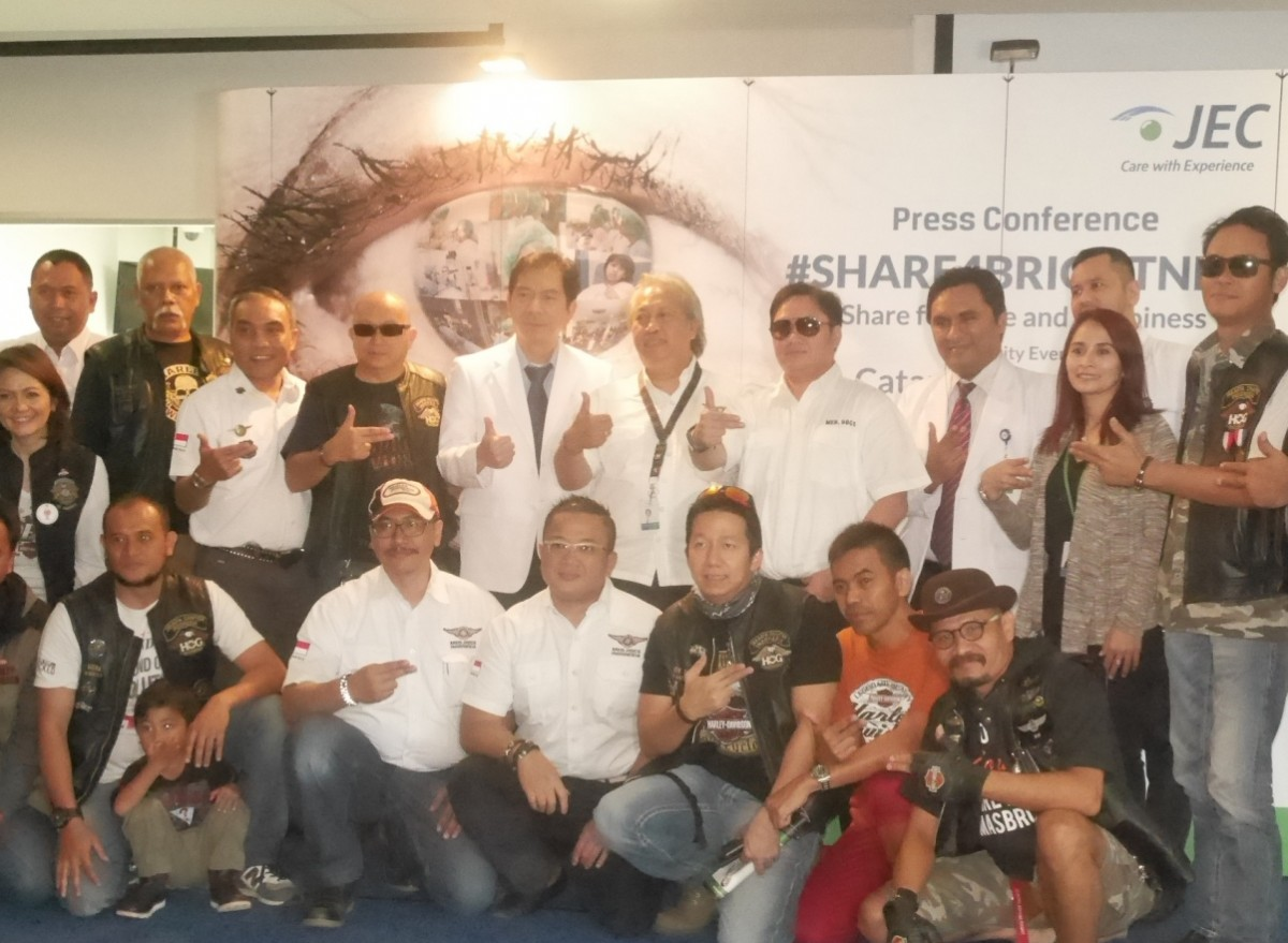 Dokter JEC Kedoya dan Harley Owner Group Jakarta Chapter serta Med.Docs and Friend Indonesia