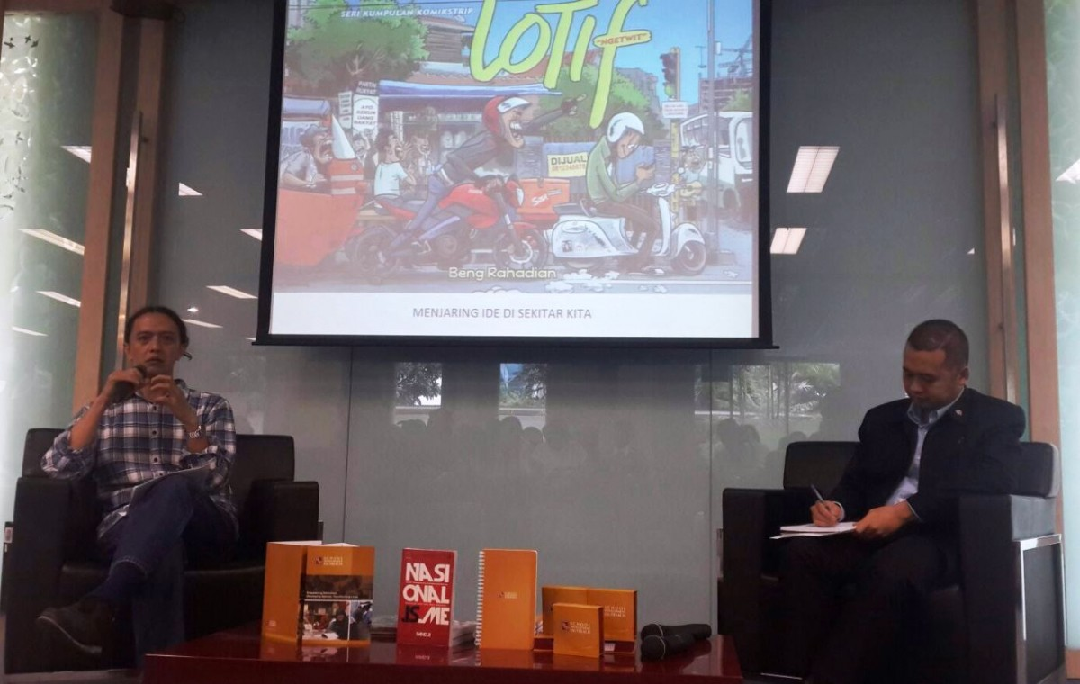 Diskusi Education Sharing Session di Kampus Sampoerna University