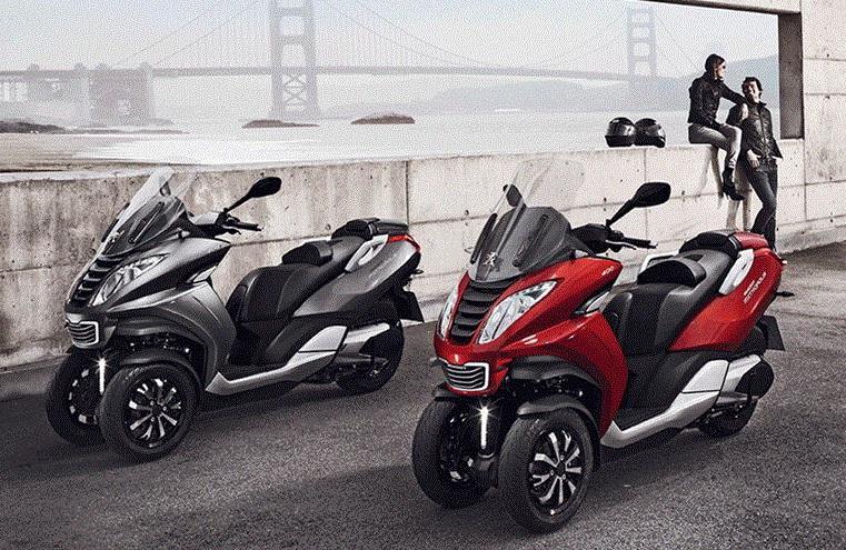 Peugeot Metropolis siap mengantar sekaligus beraksi di jalan raya. Yuk.  Ist