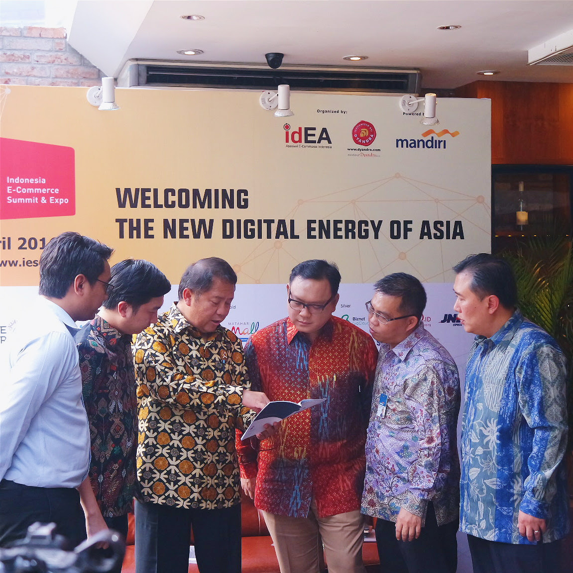 """""""Indonesia E-Commerce Summit & Expo (IESE)"""" digelar pada 27 – 29 April di  Indonesia Convention Exhibition (ICE), BSD, Tangerang."""