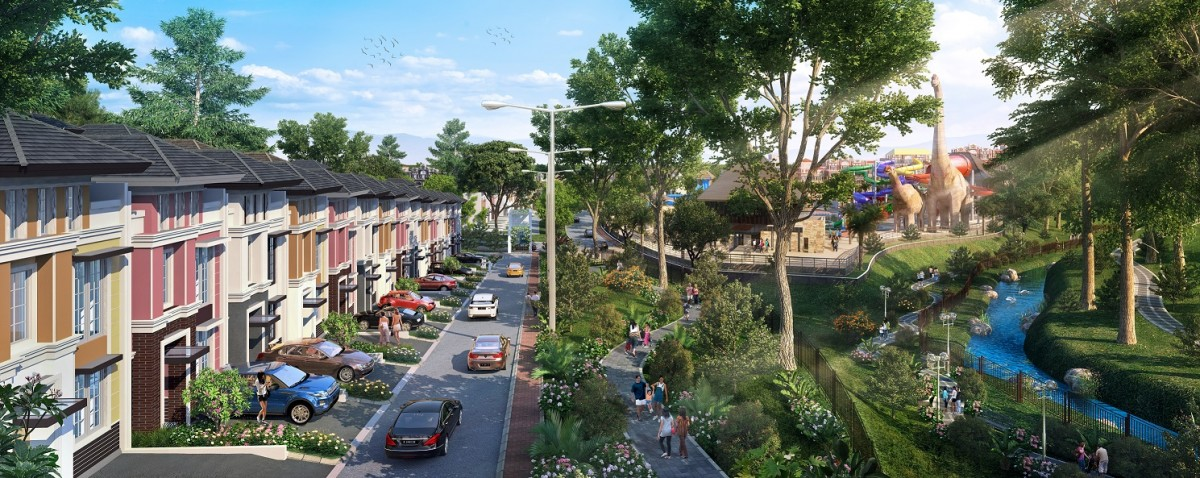 Klaster Park Hill yang akan dibangun di dalam areal Citra Garden City