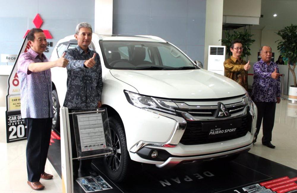 Andalan Mitsubishi di segmen kendaraan penumpang: All New Pajero Sport.  Ist