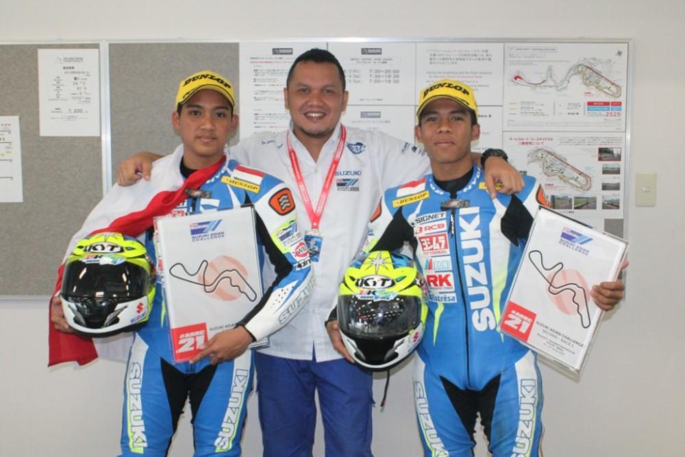 Inilah M. Sapril, Robert Satrio, dan Rizal Feriyadi.  Ist