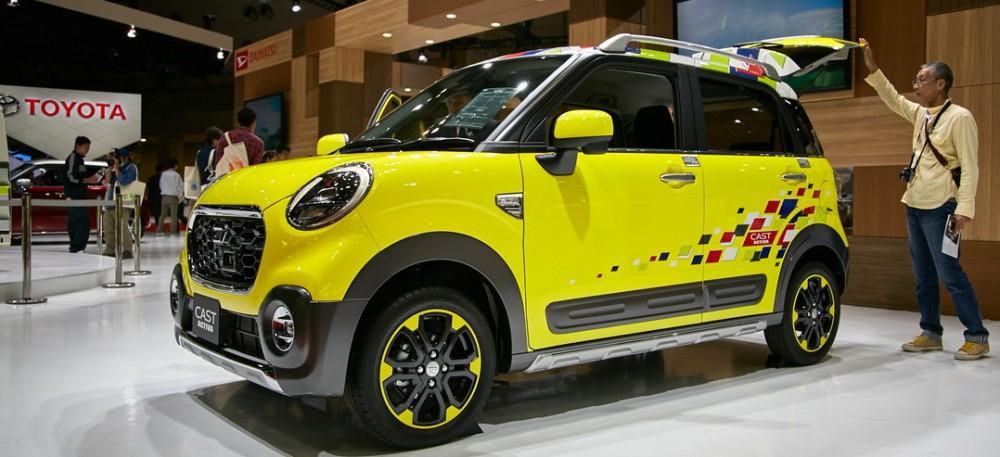 Spesialis mobil kompak, Daihatsu bakal memboyong jagoannya yang unik yakni  Cast Activa Offroad. Ist