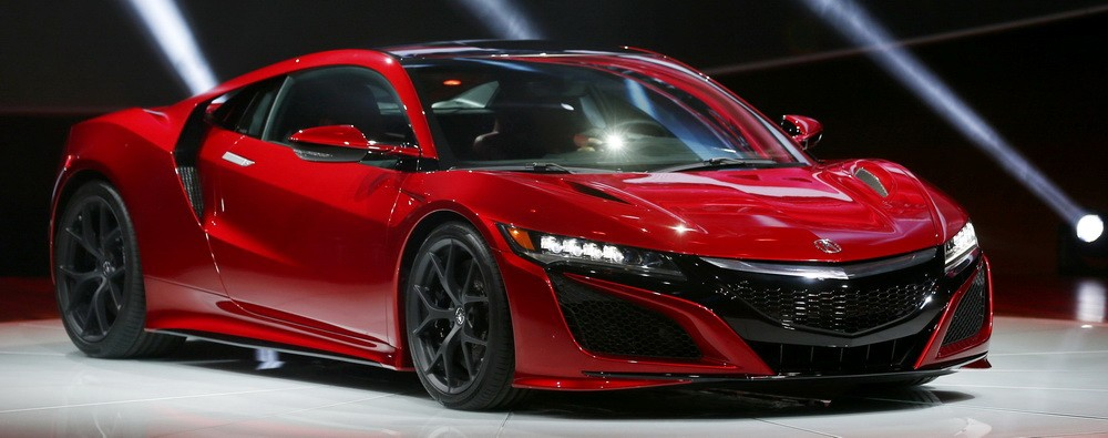 All New Honda NSX, supercar ganteng. Ist