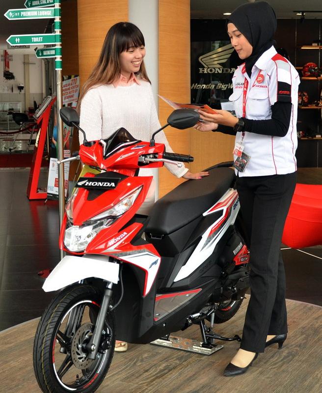 All New Honda BeAT eSP merajai segmen skutik di Tanah Air. Ist