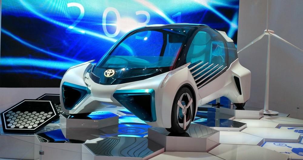 FCV Plus, mobil masa depan Toyota.  Ist
