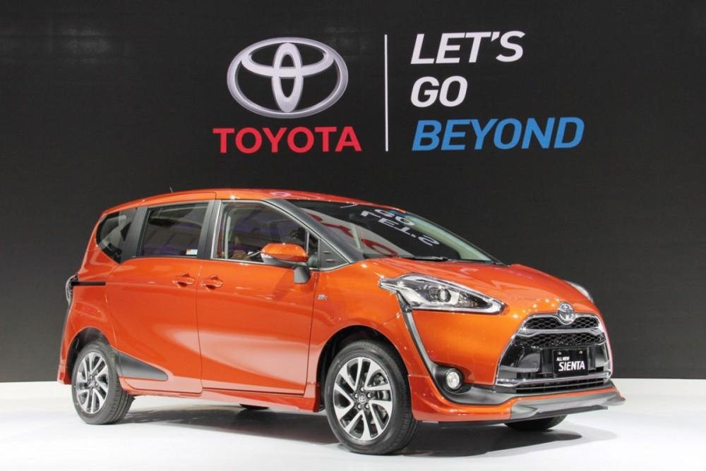 All New Toyota Sienta di GIIAS 2016 sukses meraup penjualan sebesar 893 unit atau berkontribusi sekitar 10,78%. Ist