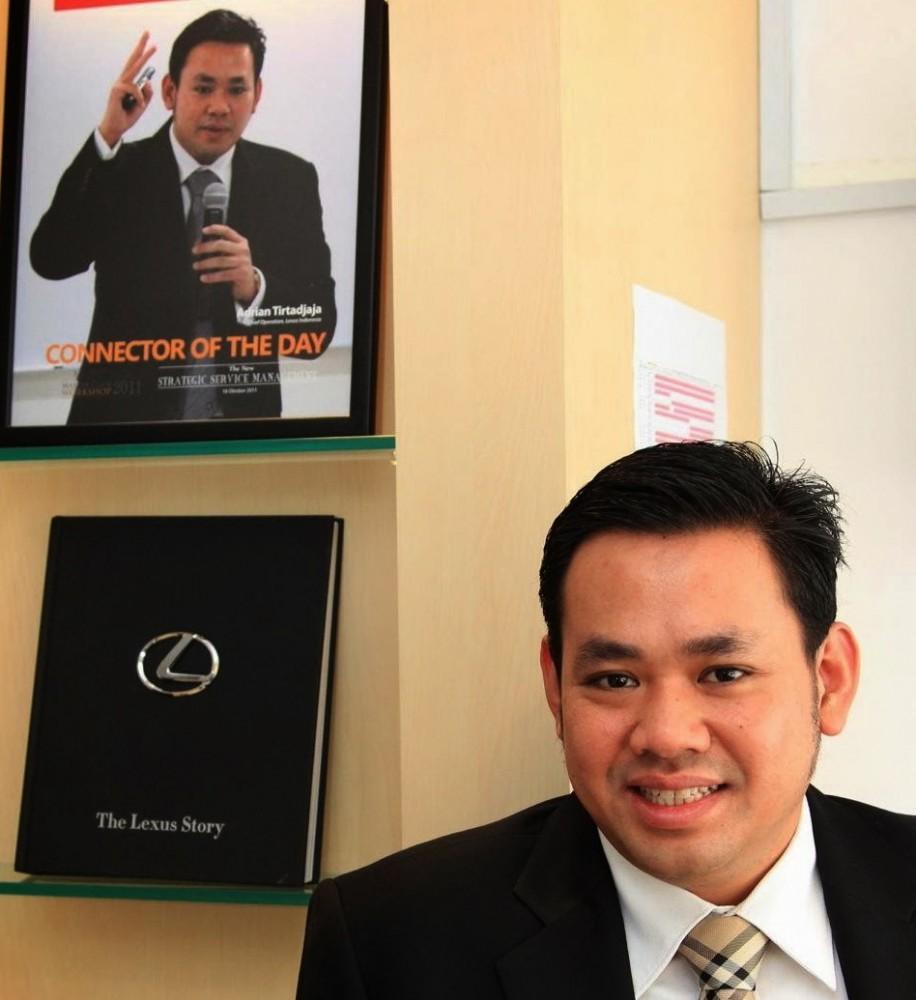Adrian Tirtadjaja, GM Lexus Indonesia.  Ist