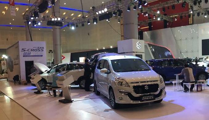 Suzuki hadirkan beragam produk unggulan di ajang tersebut. Ist