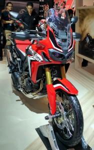 New CRF1000L Africa Twin yang tampil perdana di Indonesia.  (NextID)