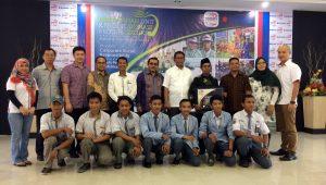 Acara seremonial Suzuki Peduli Pendidikan ketika diglar di Makassar.  Ist