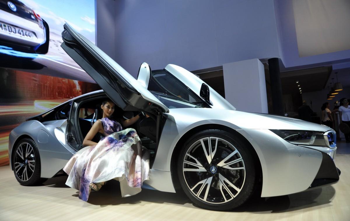 Lagi kemewahan dan kemegahan hadir via merek-merek mobil Eropa di GIIAS tahun lalu. Ist
