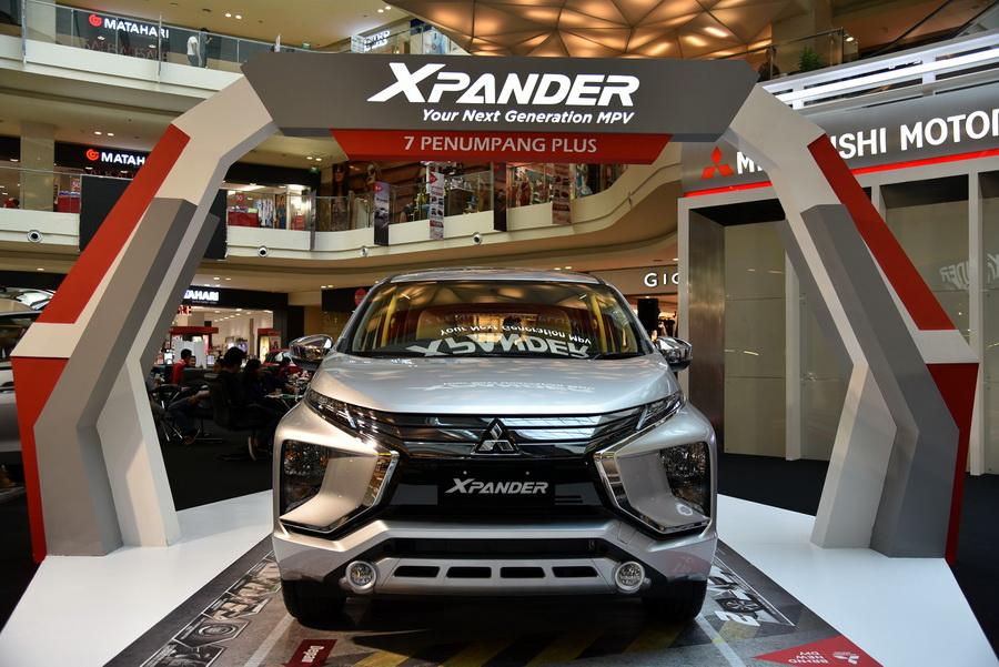 Mitsubishi Xpander tampil di Semarang. Ist