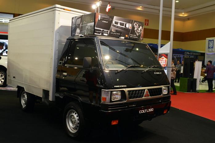 Model Mitsubishi lain yang hadir meramaikan GIICOMVEC 2018 adalah L300.  Ist