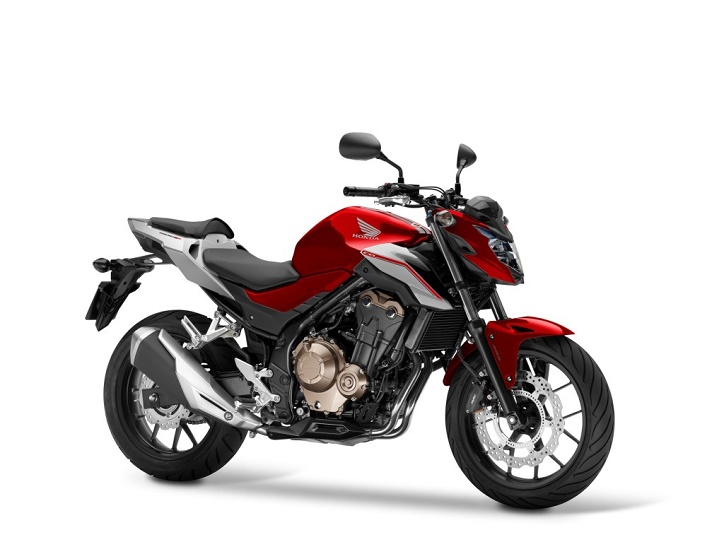 Honda CB500F Candy Cromosphere Red, Force Silver Metallic  Ist