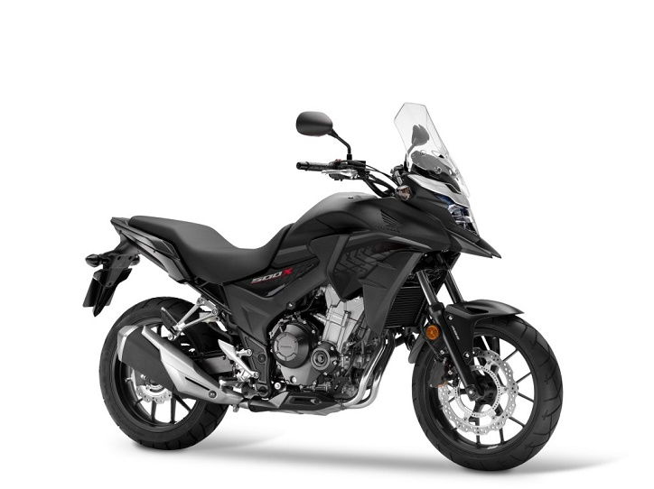 Honda CB500X Matt Gunpowder Black Metallic  Ist