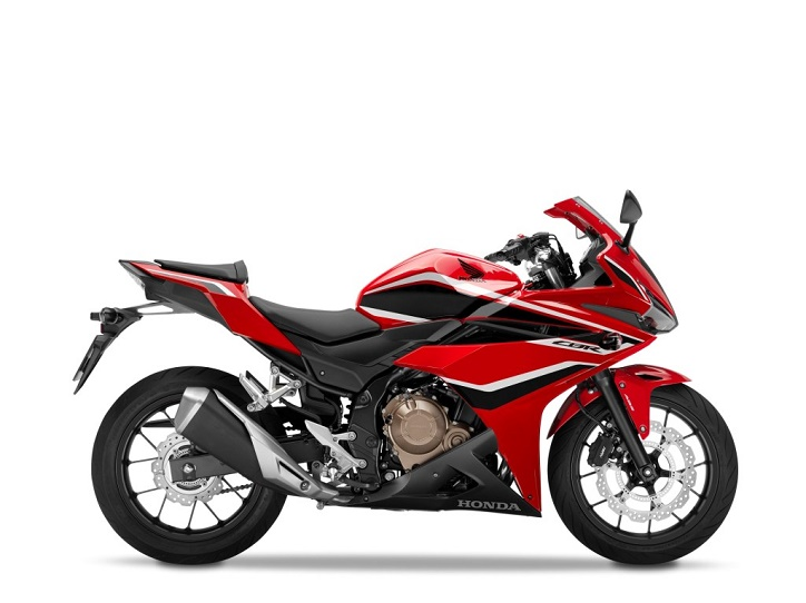 Honda CBR500R Grand Prix Red, Black Stripe.  Ist