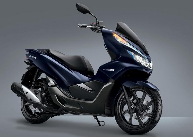 Inilah sosok yang lebih jelas dari All New Honda PCX Hybrid. Skutik ini dibanderol sekitar Rp 40 jutaan.  Ist