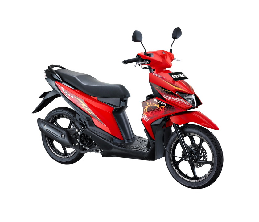 Suzuki NEX II Fancy Dynamic Stronger Red.  Ist