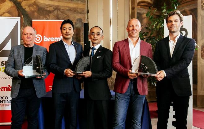 Honda Urban EV Concept menyabet 'Best Concept Car' dari panel juri global yang digelar di Turin Motor Show 2018 di Italia.  Ist