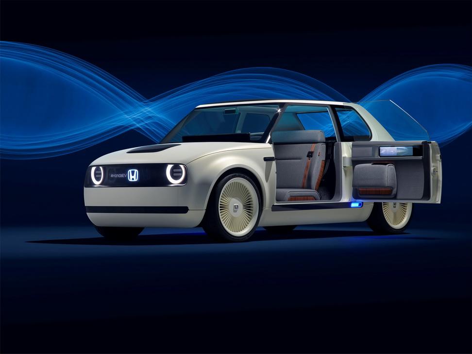 Urban EV Concept saat pertama kali diperkenalkan di Frankfurt Motor Show 2017.  Ist