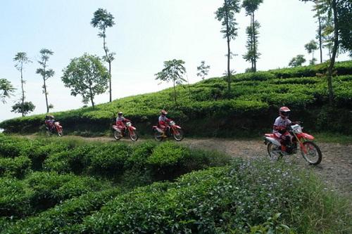 Para bikers semakin asyik dan seru saat melintasi daerah ini.  Ist