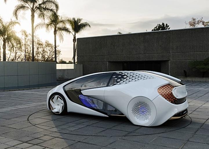 """Mobil konsep yang bakal diboyong Toyota di ajang GIIAS 2018 adalah """"Konsep i.""""  Ist"""