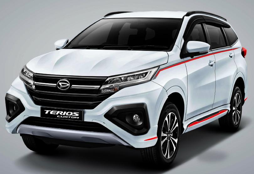 All New Terios Custom harganya lebih mahal Rp 13 juta.  Ist