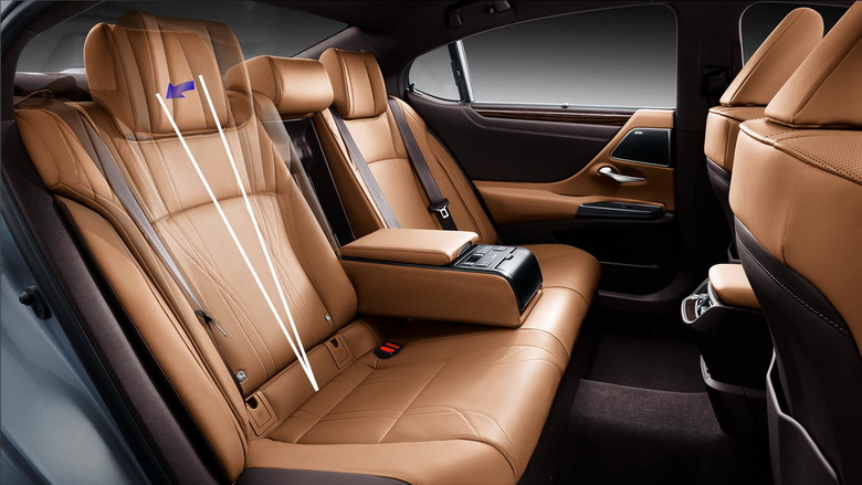 Interior belakang dilengkapi reclining seat.  Ist