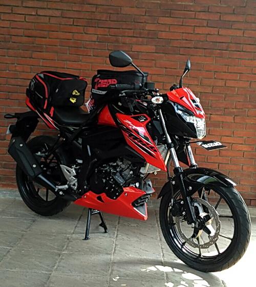 Siapa tertarik motor sport harian yang ganteng ini, tunggu peluncuran resminya.  Ist