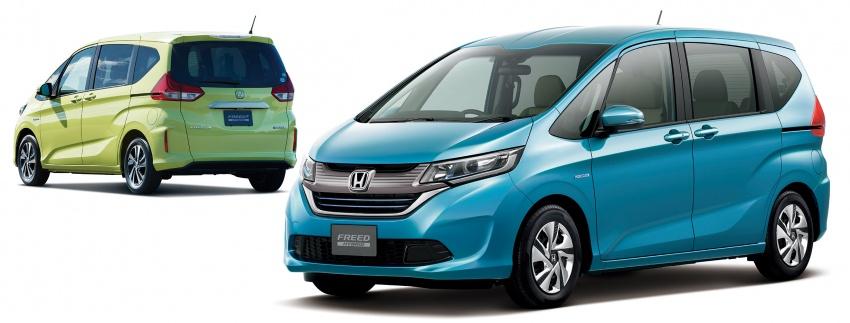 Honda Freed produksi 2014 - 2016 juga terkena (penambahan) recall sejumlah 10.325 unit .  Ist
