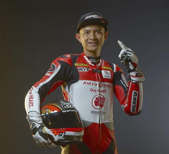 Dimas Ekky semoga sukses di ajang Grand Prix (GP) Moto2 2019. Ist