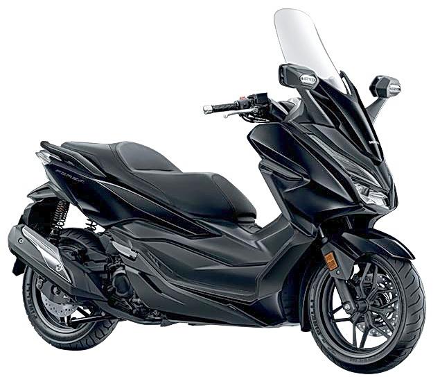 Salah satu warna Honda Forza yang difavoritkan.  Ist