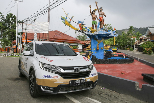 "Perjalanan ""Jelajah Nusantara bersama All New Honda CR-V Turbo"" akan melintasi 34 provinsi di Indonesia dengan menumpuh jarak sekitar 21 ribu kilometer dalam 133 hari. Ist"