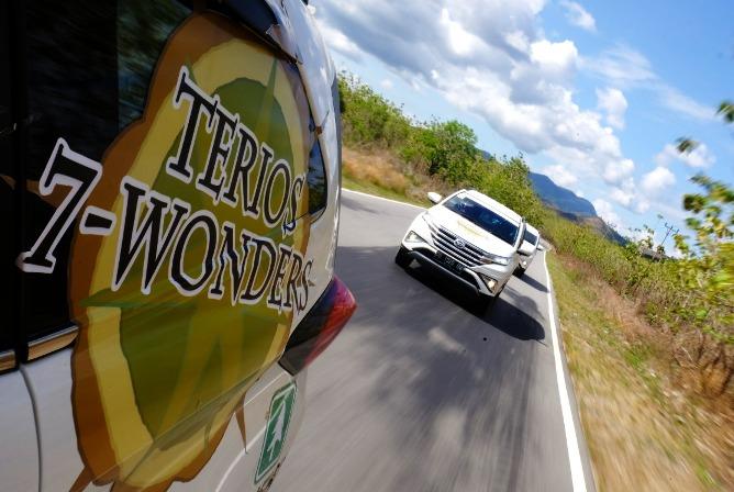 Ekspedisi Terios 7 Wonders ini menjadi ajang pembuktian untuk menunjukkan performa, kenyamanan, dan keamanan Terios untuk dibawa berpetualang.  Ist