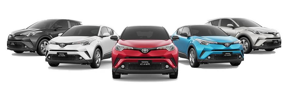 All New Toyota formasi lengkap. Ist