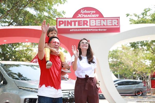 Keluarga Pinter Bener (Ringgo Agus, Sabai Dieter, dan Bjorka)  Ist