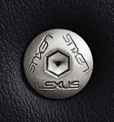 Baut yang dibuat khusus untuk supercar Lexus LFA yang bisa ditemukan di Lexus NX.  Ist