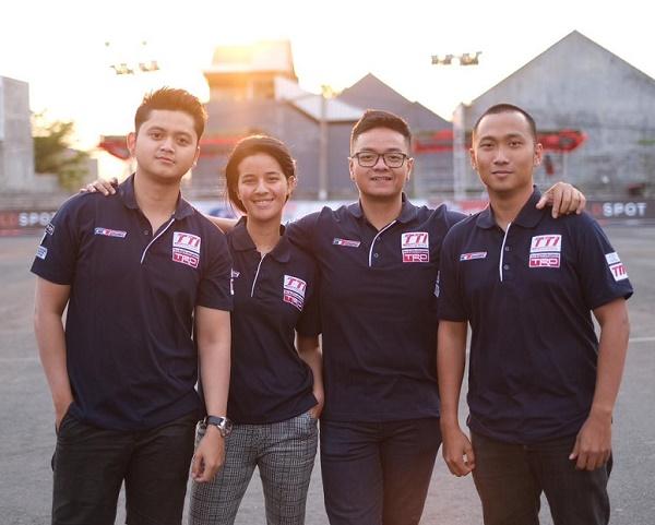 Inilah para pebalap yang tergabung dalam Toyota Team Indonesia.  Ist