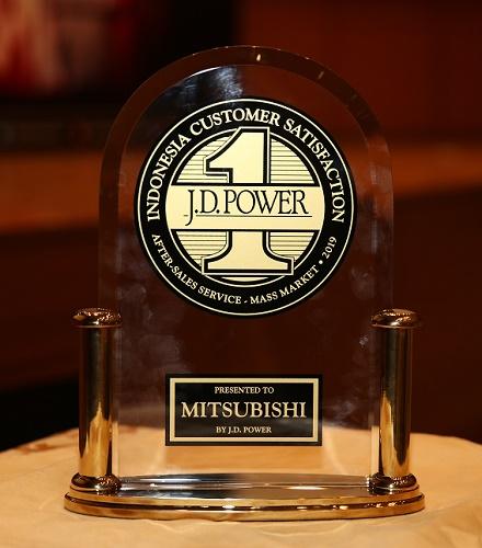 Inilah penghargaan dari JD Power atas prestasi MMKSI di sektor after sales.  Ist