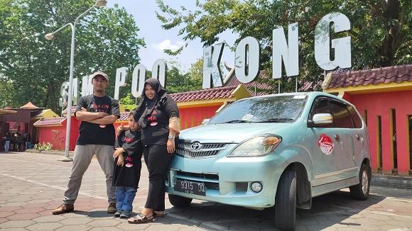 Dalam ajang tersebut mereka berkunjung ke lokasi ikonik di sana, Klenteng Sam Po Kong.  Ist