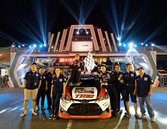 Inilah Toyota Team Indonesia yang kompak dan siap jadi juara.  Ist