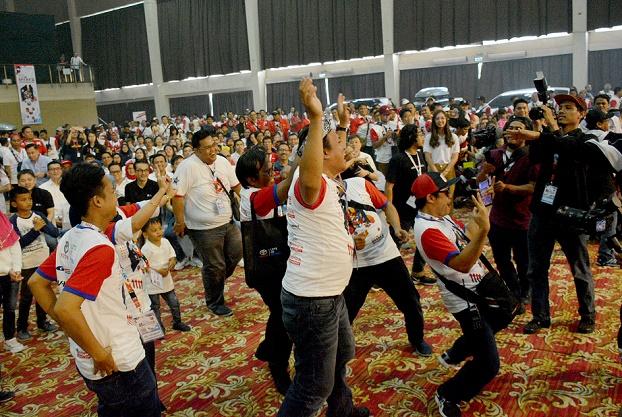 Acara jambore selalu seru dan meriah, Bertema The Break Impossibilities, acara ini dihadiri lebih dari 1500 pemilik mobil Toyota yang yang tergabung dalam 18 TOC.   Ist .