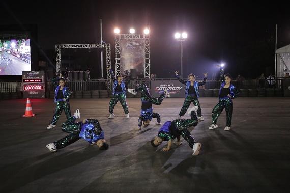 Modern Dance meramaikan di pembukaan ini,  Ist