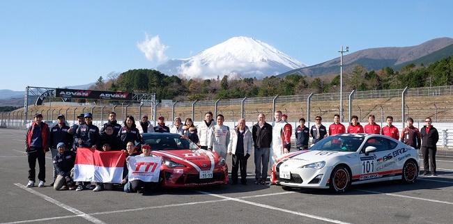 Toyota Team Indonesia dan Toyota Gazoo Australia. Ist