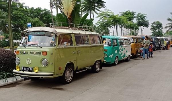VW Combi pun meramaikan acara ini .  (Driivenhype.com)